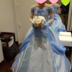 ディズニー・フェアリーテイル・ウェディングの軌跡 その8 ドレス試着(カラードレス編)
