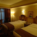アンバサダーホテル宿泊 チップとデールルーム