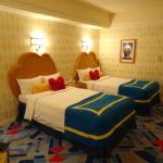 アンバサダーホテル宿泊 ドナルドダックルーム